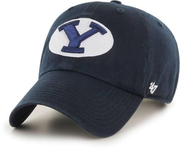 '47 Men's BYU Cougars Blue Clean Up Adjustable Hat product image