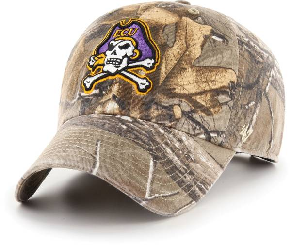 '47 Men's East Carolina Pirates Camo Realtree Clean Up Adjustable Hat product image
