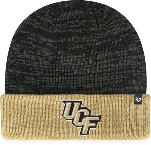 '47 Men's UCF Knights Black Marl Two Tone Cuffed Knit Beanie product image