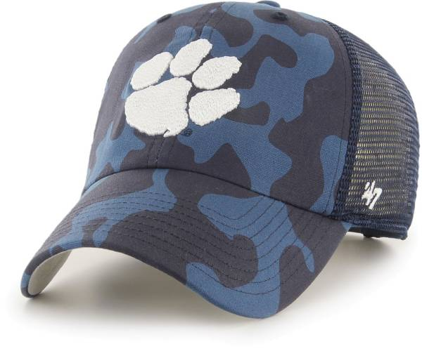 '47 Men's Clemson Tigers Grey OHT Covert Clean Up Adjustable Hat product image