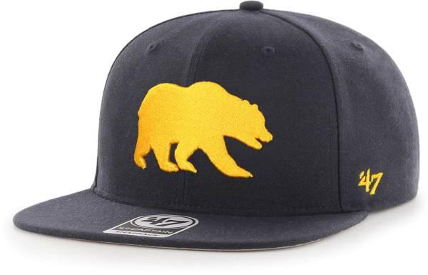 '47 Men's Cal Golden Bears Blue Sure Shot Captain Adjustable Hat product image