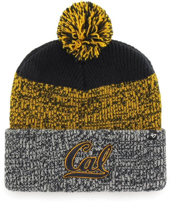'47 Men's Cal Golden Bears Blue Static Cuffed Knit Hat product image