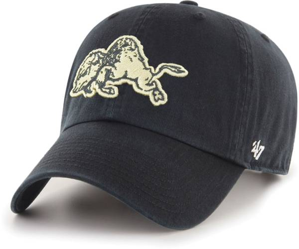 '47 Men's Colorado Buffaloes Clean Up Adjustable Black Hat product image