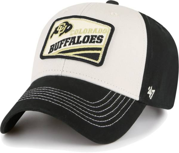 '47 Men's Colorado Buffaloes Black Upland MVP Adjustable Hat product image