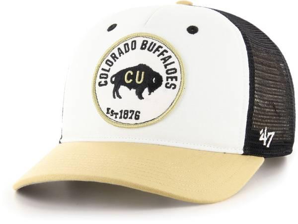 '47 Men's Colorado Buffaloes Swell MVP Snapback Adjustable Black Hat product image
