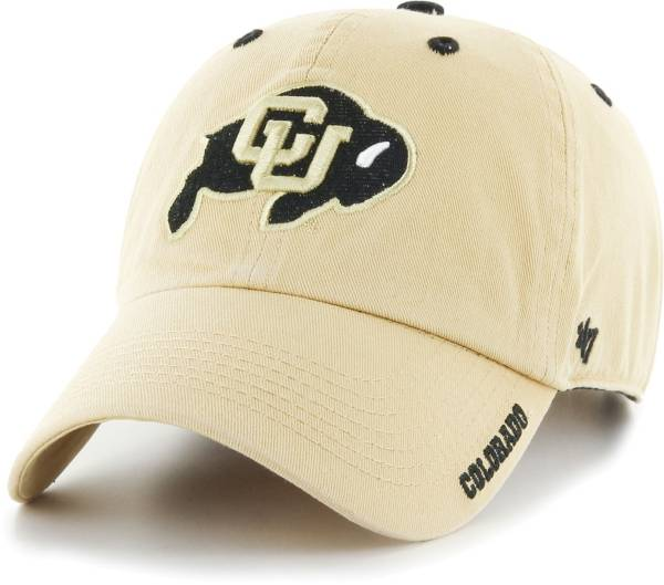 '47 Men's Colorado Buffaloes Gold Ice Clean Up Adjustable Hat product image