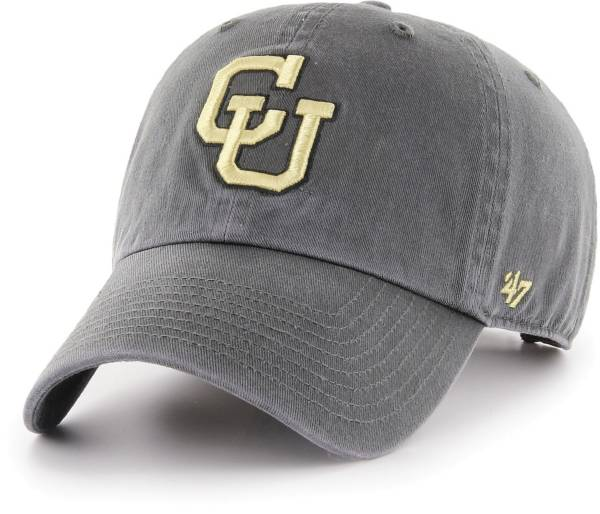 '47 Men's Colorado Buffaloes Grey Clean Up Adjustable Hat product image
