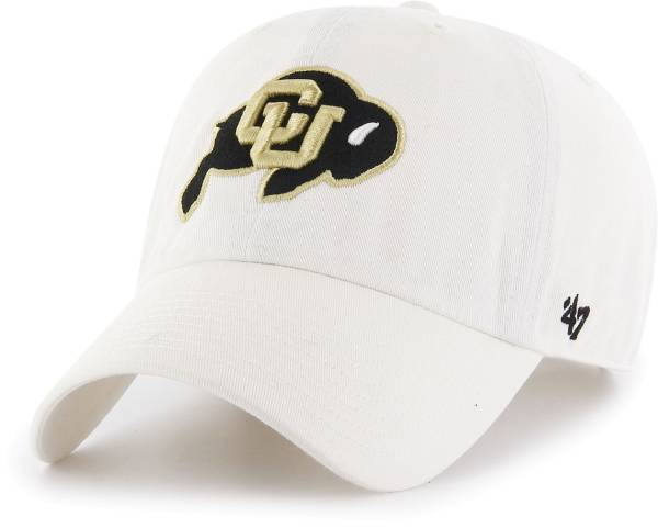 '47 Men's Colorado Buffaloes Clean Up Adjustable White Hat product image
