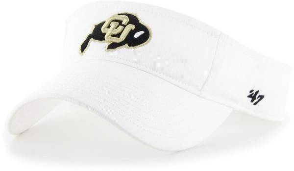 '47 Men's Colorado Buffaloes Clean Up Adjustable White Visor product image