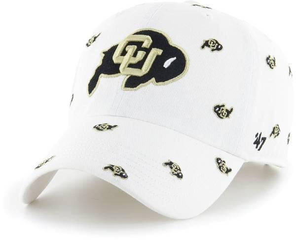 '47 Women's Colorado Buffaloes Confetti Adjustable White Hat product image