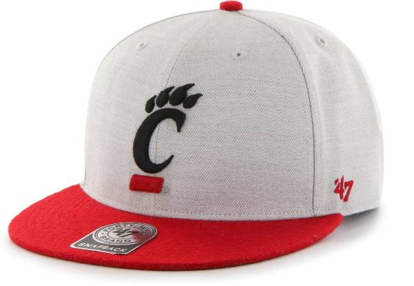 '47 Men's Cincinnati Bearcats Grey Catfish Adjustable Hat product image