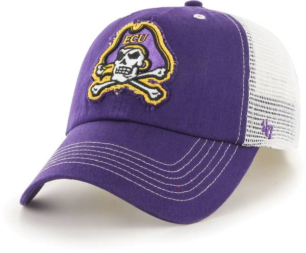 '47 Men's East Carolina Pirates Purple Blue Mountain Closer Fitted Hat product image