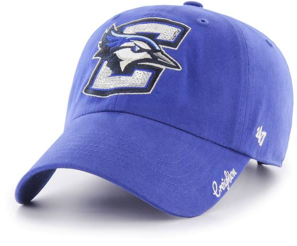 '47 Women's Creighton Bluejays Blue Sparkle Clean Up Adjustable Hat product image