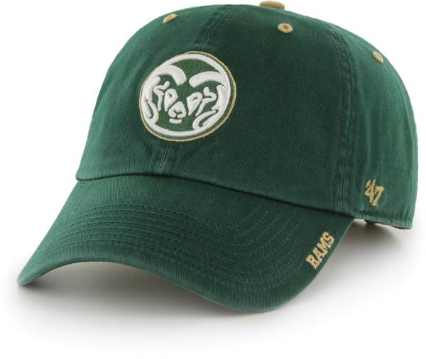 '47 Men's Colorado State Rams Green Ice Clean Up Adjustable Hat product image