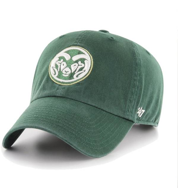'47 Men's Colorado State Rams Green Clean Up Adjustable Hat product image