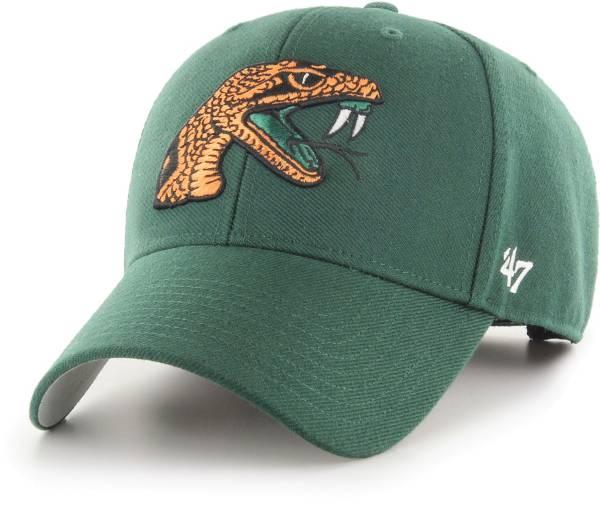 '47 Men's Florida A&M Rattlers Green MVP Adjustable Hat product image