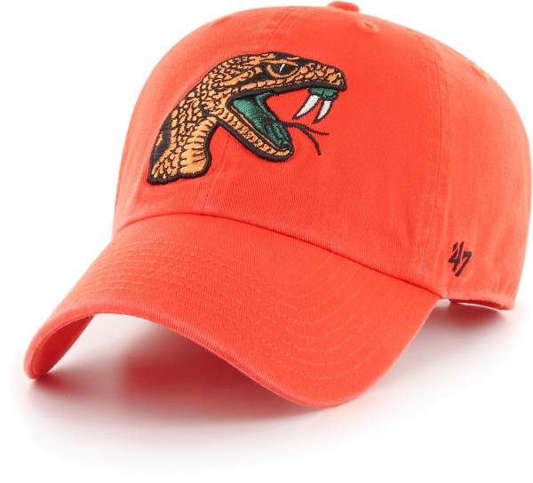 '47 Men's Florida A&M Rattlers Orange Clean Up Adjustable Hat product image