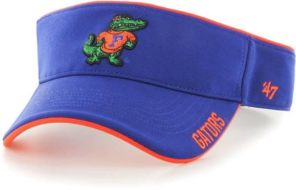 '47 Men's Florida Gators Blue Top Rope Adjustable Visor product image