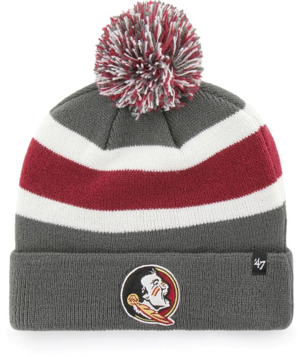 '47 Men's Florida State Seminoles Grey Breakaway Cuffed Knit Hat product image