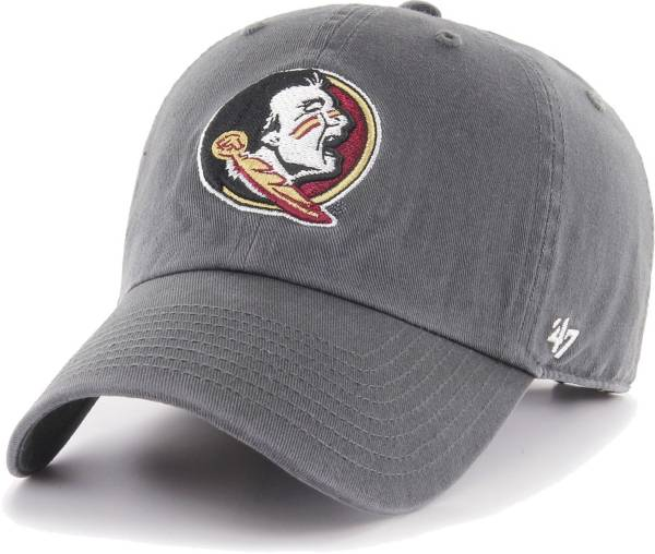 '47 Men's Florida State Seminoles Grey Clean Up Adjustable Hat product image