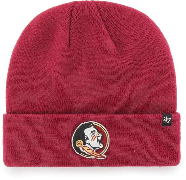 '47 Men's Florida State Seminoles Garnet Raised Cuffed Knit Beanie product image