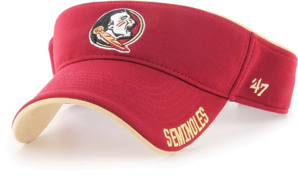 '47 Men's Florida State Seminoles Garnet Top Rope Adjustable Visor product image