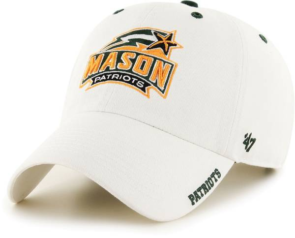 '47 Men's George Mason Patriots Ice Clean Up Adjustable White Hat product image