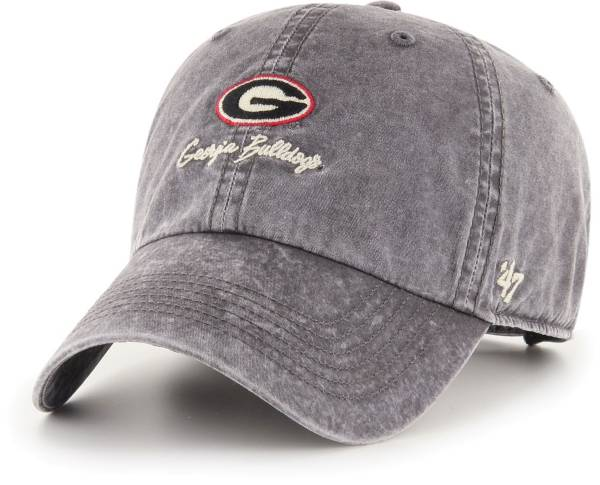 '47 Men's Georgia Bulldogs Lynwood Clean Up Adjustable Black Hat product image