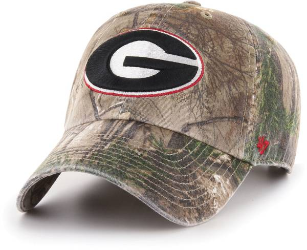 '47 Men's Georgia Bulldogs Camo Realtree Clean Up Adjustable Hat product image