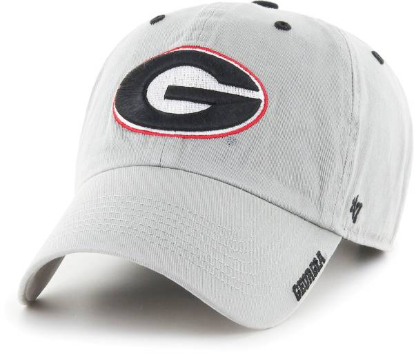 '47 Men's Georgia Bulldogs Grey Ice Clean Up Adjustable Hat product image