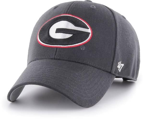 '47 Men's Georgia Bulldogs Grey MVP Adjustable Hat product image