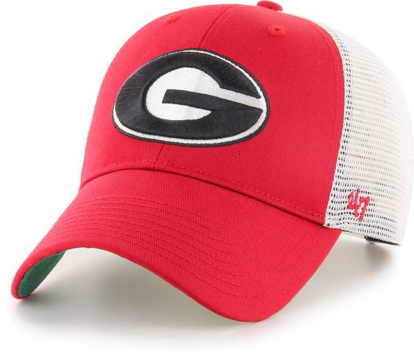 '47 Men's Georgia Bulldogs Red Branson MVP Adjustable Hat product image