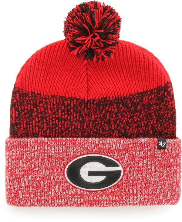 '47 Women's Georgia Bulldogs Red Static Cuffed Knit Hat product image