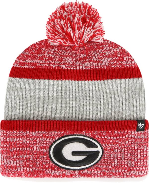 '47 Men's Georgia Bulldogs Red Static Cuffed Knit Hat product image