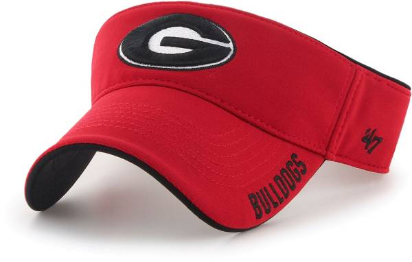 '47 Men's Georgia Bulldogs Red Top Rope Adjustable Visor product image