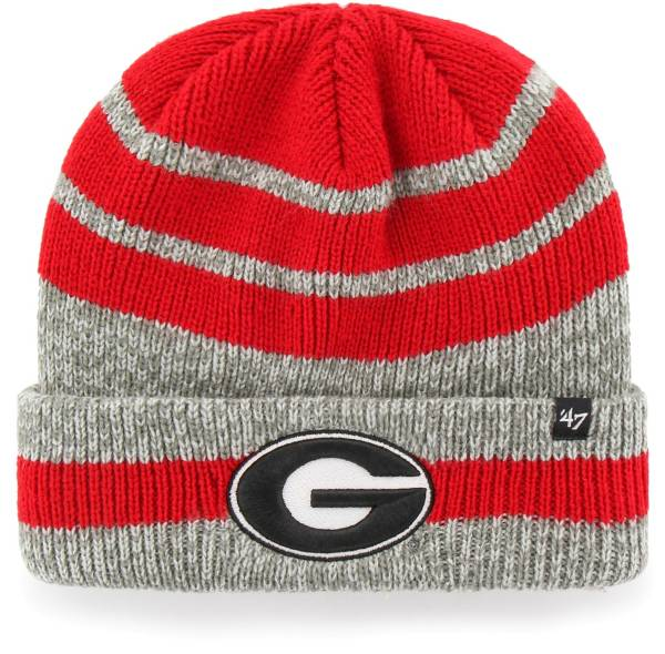 '47 Men's Georgia Bulldogs Red Winslow Cuffed Knit Beanie product image