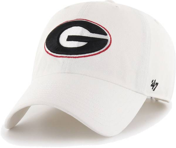 '47 Men's Georgia Bulldogs Clean Up Adjustable White Hat product image