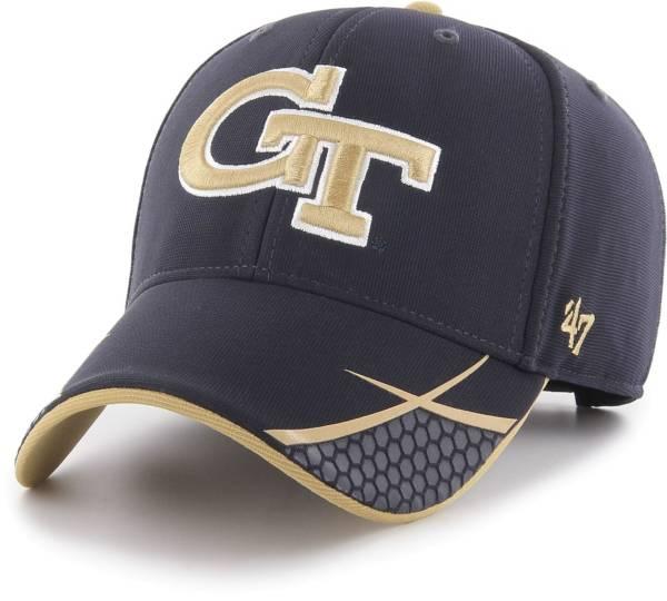 '47 Men's Georgia Tech Yellow Jackets Navy Sensei MVP Adjustable Hat product image