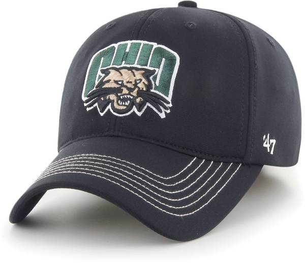 '47 Men's Ohio Bobcats Game time Closer Fitted Black Hat product image