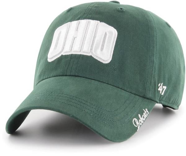'47 Women's Ohio Bobcats Green Miata Clean Up Adjustable Hat product image