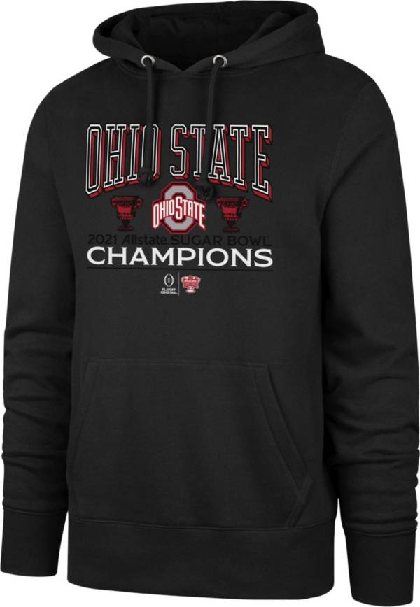 '47 Men's 2021 Allstate Sugar Bowl Champions Ohio State Buckeyes Pullover Hoodie product image