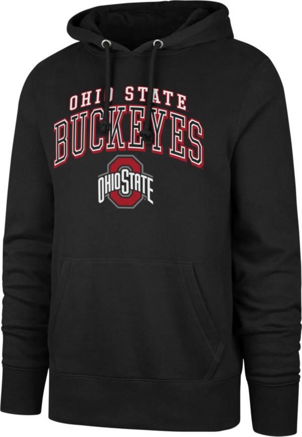 '47 Men's Ohio State Buckeyes Pullover Black Hoodie product image