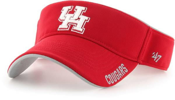 '47 Men's Houston Cougars Red Top Rope Adjustable Visor product image
