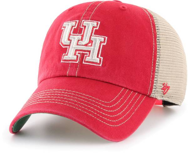 '47 Men's Houston Cougars Red Trawler Adjustable Hat product image