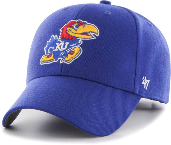 '47 Men's Kansas Jayhawks Blue MVP Adjustable Hat product image