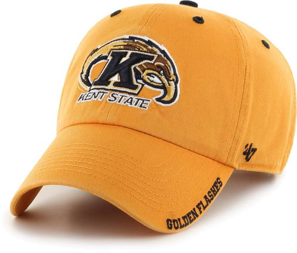 '47 Men's Kent State Golden Flashes Gold Ice Clean Up Adjustable Hat product image