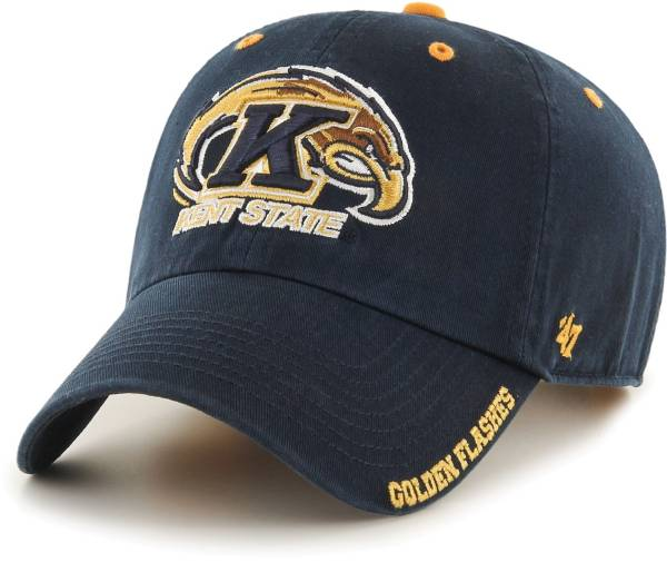 '47 Men's Kent State Golden Flashes Navy Blue Ice Clean Up Adjustable Hat product image