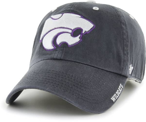 '47 Men's Kansas State Wildcats Grey Ice Clean Up Adjustable Hat product image