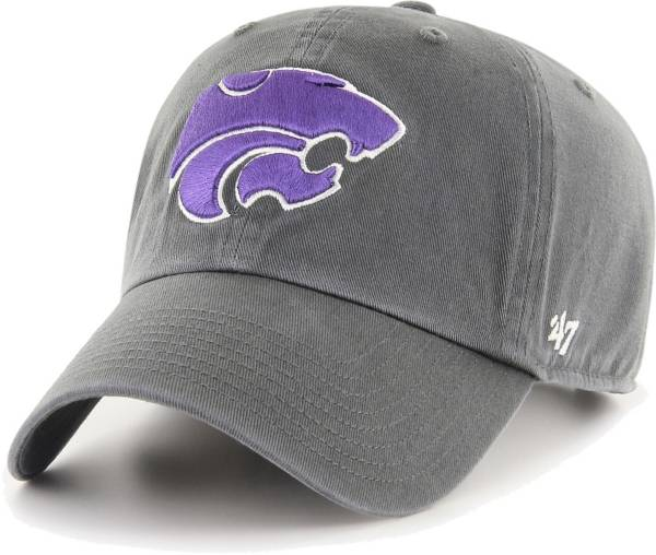 '47 Men's Kansas State Wildcats Grey Clean Up Adjustable Hat product image