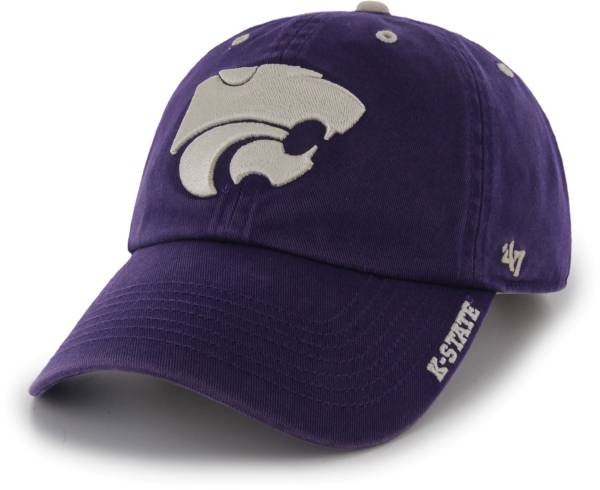 '47 Men's Kansas State Wildcats Purple Ice Clean Up Adjustable Hat product image